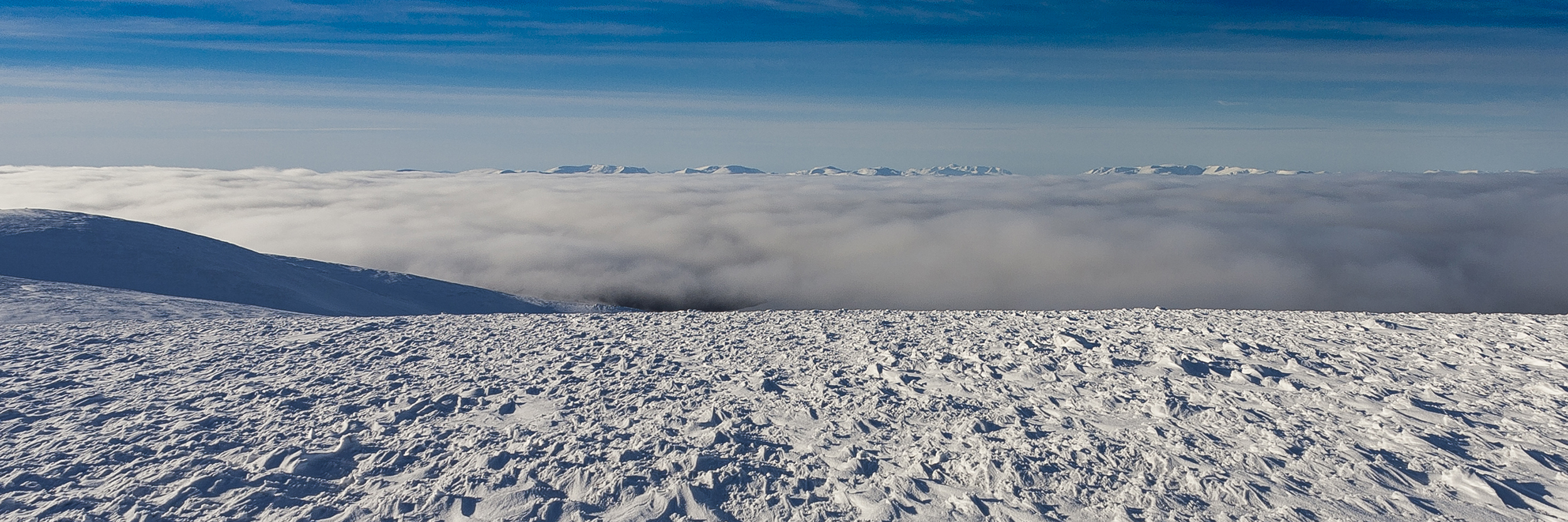 A panoramic view across the inversion