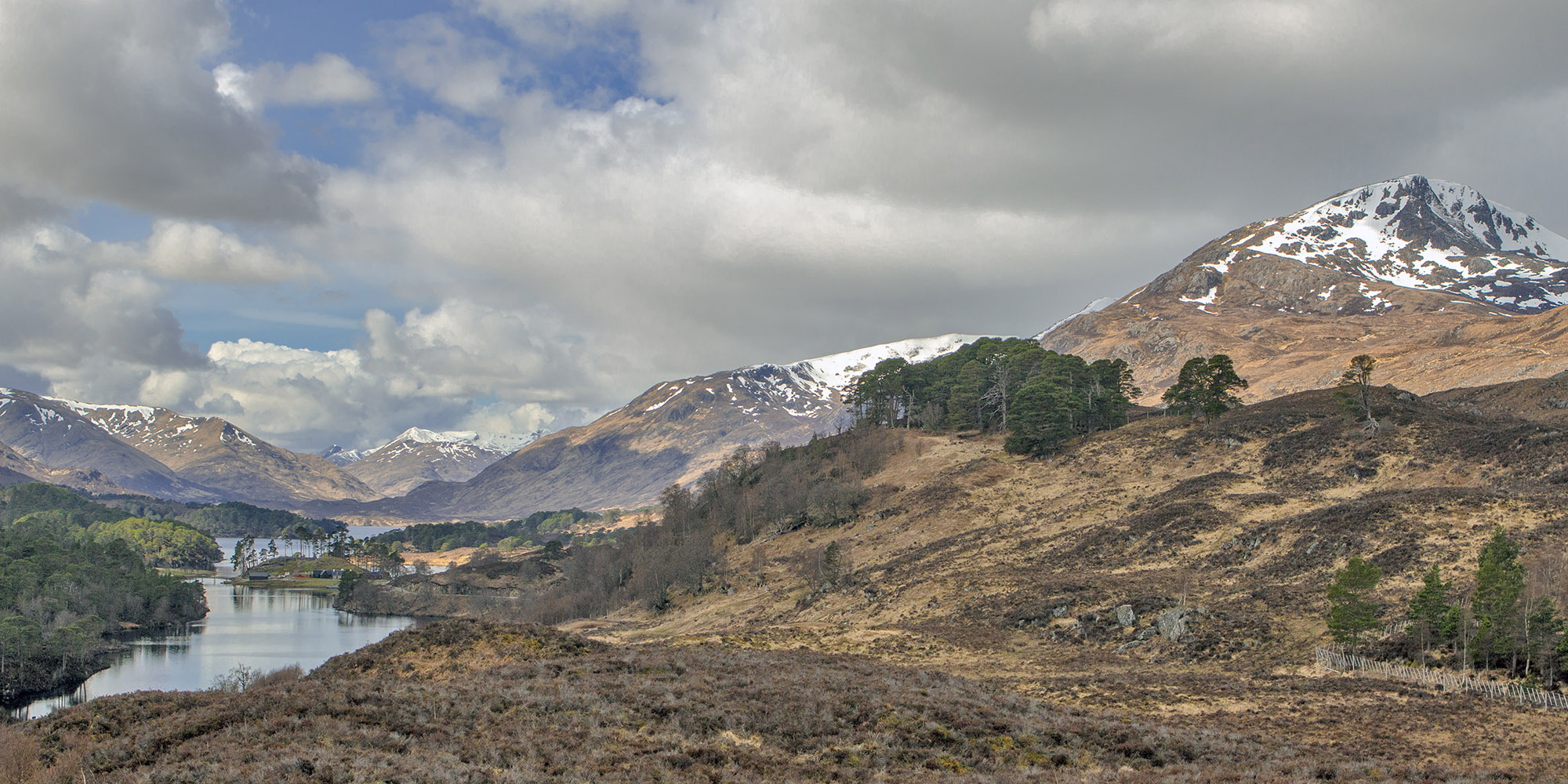 Glen Affric, Scottish Highlands, mountains, lochs, landscape photography