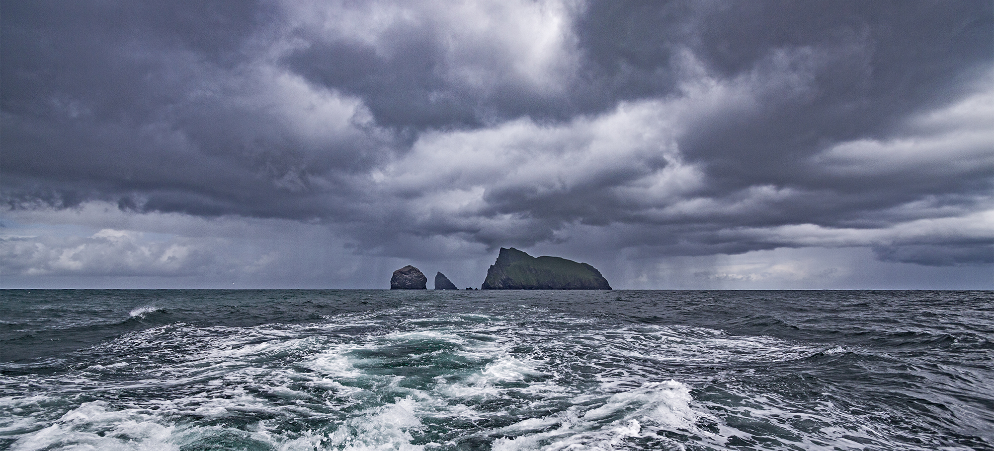 St Kilda - Boreray and the Sea Stacs