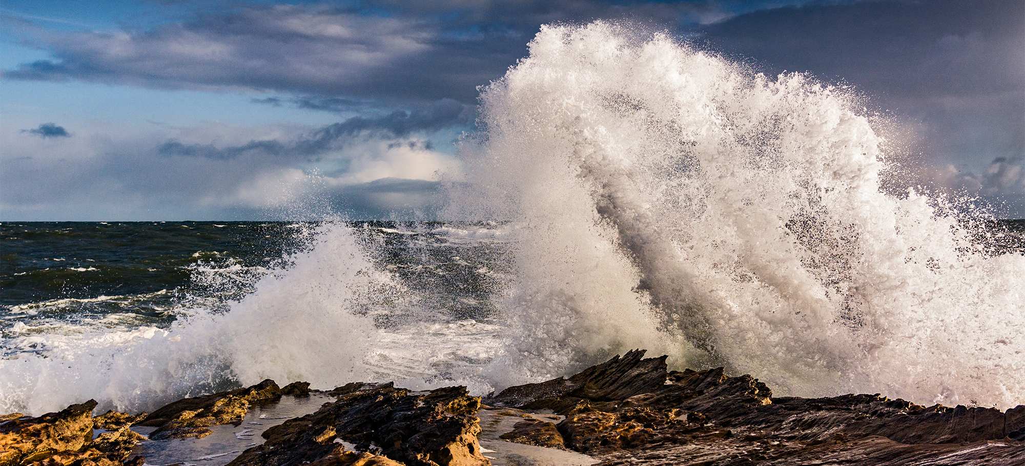 The power of the sea at Tarbat Ness