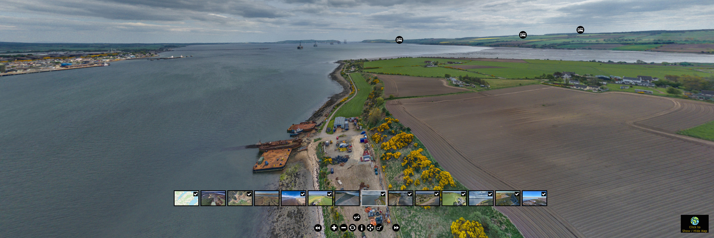 Interactive and Immersive Virtual Tours